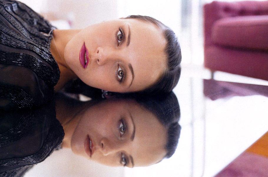 christina ricci makeup. Christina Ricci: Premiere