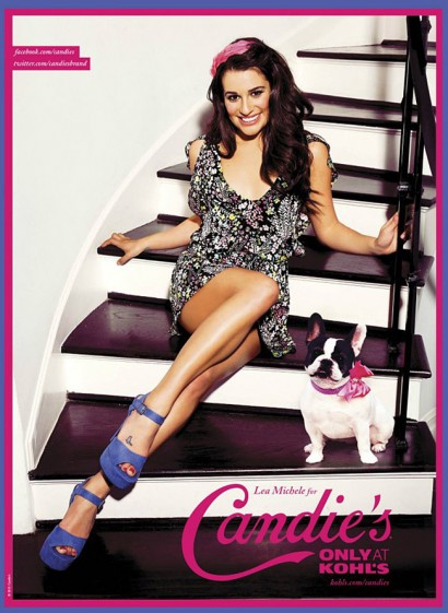 Lea Michele Candies