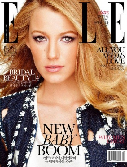 Blake Lively-Elle Korea May 2011 Cover
