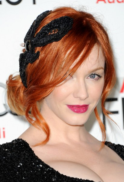 Christina Hendricks-Ginger and Rosa Premiere
