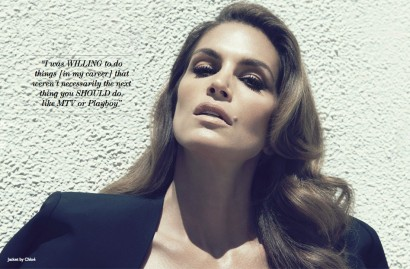 Cindy Crawford: Net A Porter