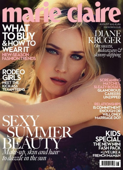 Diane Kruger-Marie Claire 2013