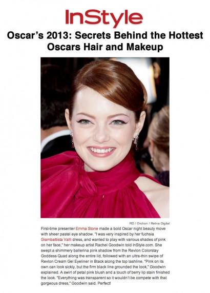 Emma Stone-InStyle Oscars