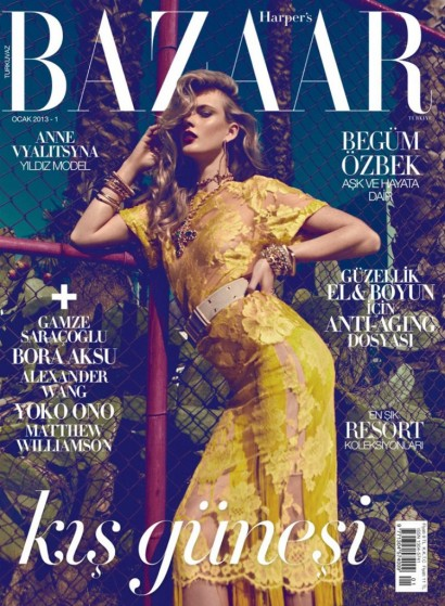 Harper's Bazaar-Turkey January 2013-Cover