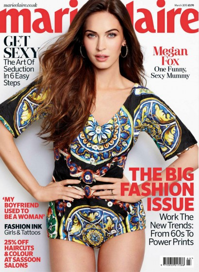MEGAN FOX in Marie Claire Magazine