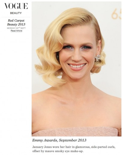 Vogue: January Jones Sept 2013 Press