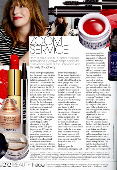 Elle Beauty Insider Nov 2013