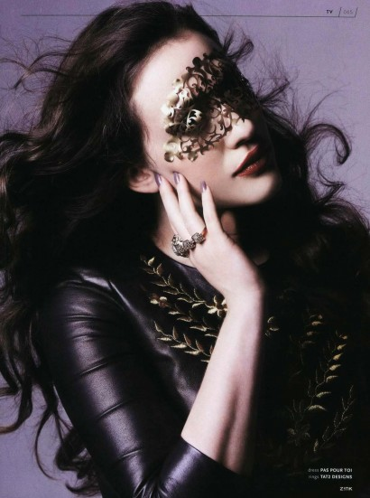Kat Dennings: ZINK WINTER 2013