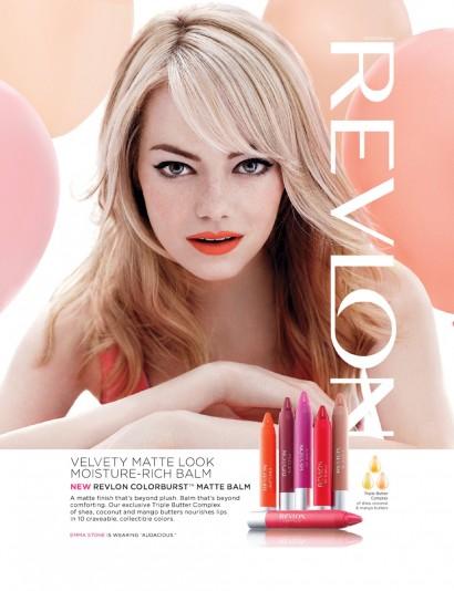 Emma Stone: Revlon 2014