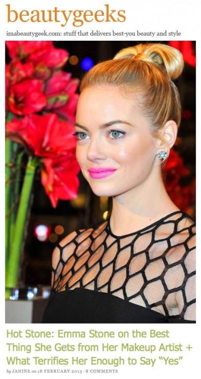 beautygeeks Emma Stone