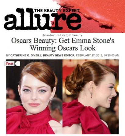allure emma oscars feb 2012
