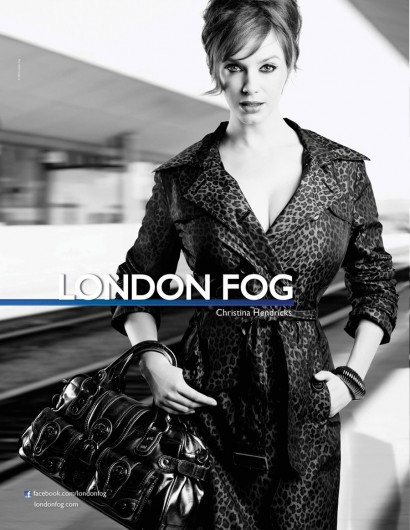 London Fog Christina Hendricks