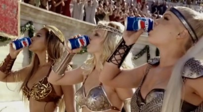 Pink Pepsi Commercial