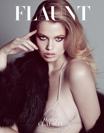 Flaunt-Hailey Clauson-Aug 2014-1