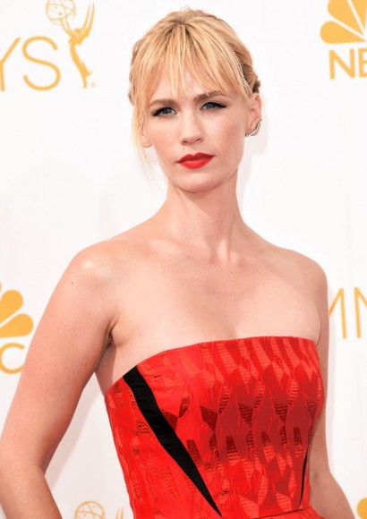 January Jones Emmys 2014