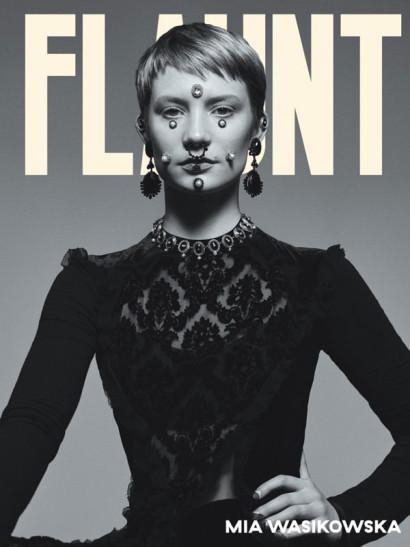 Mia Wasikowska: Flaunt Nov 2015