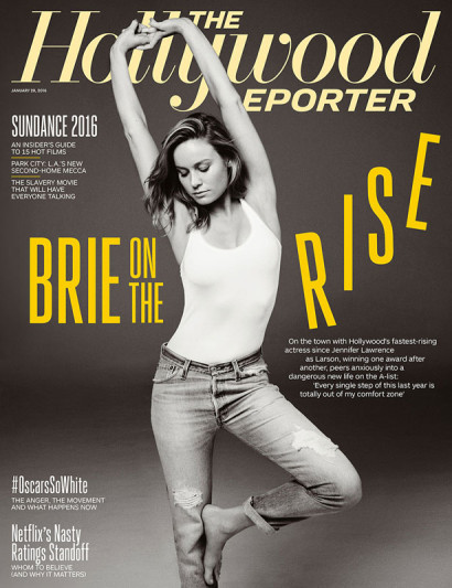 Brie Larson Hollywood Reporter JAN 2016