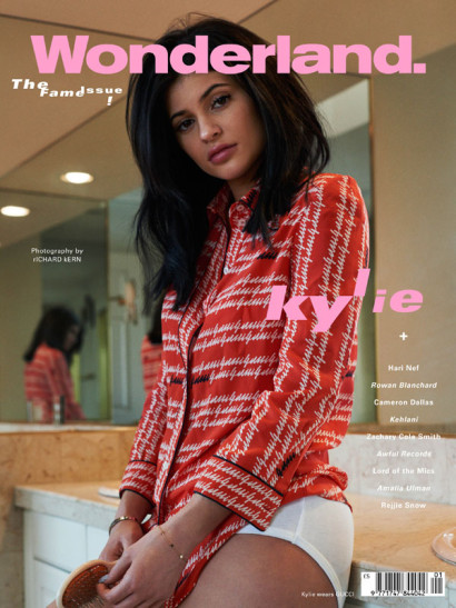 Kylie Jenner Wonderland March 2016
