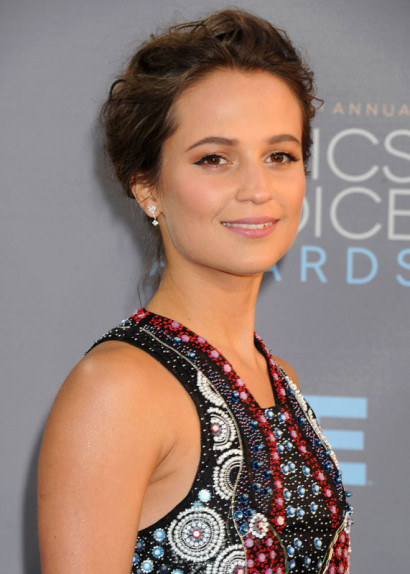 Alicia Vikander Critics' Choice Awards JAN 2016