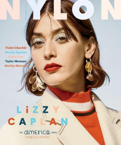 Lizzy Caplan Nylon Nov. 2016