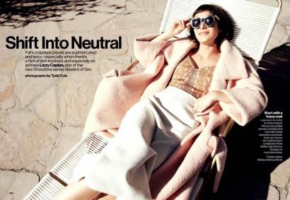 Lizzy Caplan-Glamour Magazine Oct 2013